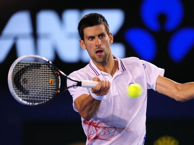 Result: Djokovic overcomes Kavcic in round two