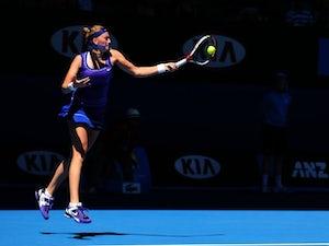 Result: Kvitova eases past Zakopalova