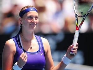 Result: Kvitova advances at US Open
