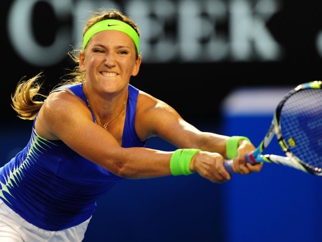 Result: Azarenka through after early struggle