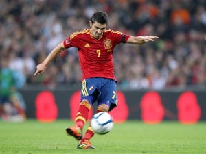 Villa delighted with Barca return