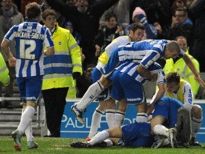 Half-Time Report: Brighton lead 10-man Leeds at the break