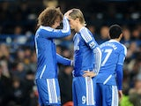 David Luiz and Fernando Torres