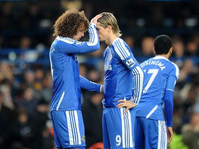 David Luiz and Fernando Torres