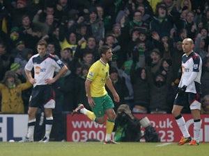 Result: Norwich 2-0 Bolton