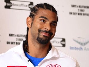 Haye labels Sinclair's girlfriend