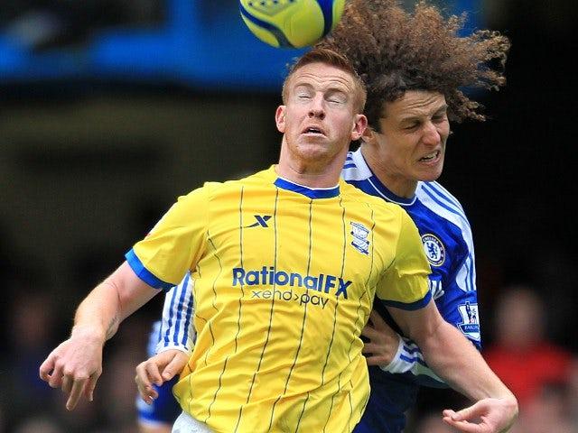 David Luiz and Adam Rooney
