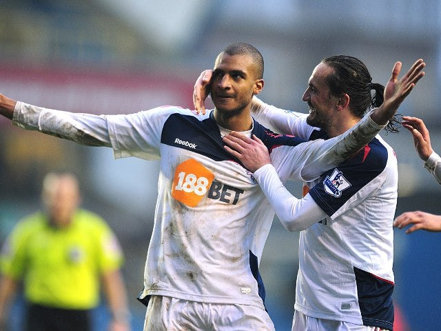 Half-Time Report: Bolton lead Wolves at the break
