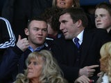 Wayne Rooney and Alan Stubbs
