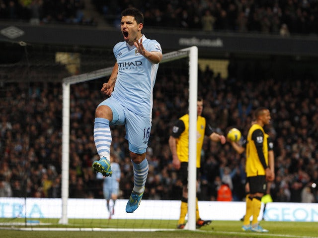 Aguero: I'm staying with Man City