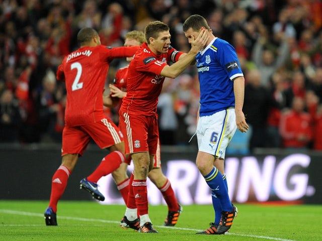 Steven Gerrard and Anthony Gerrard