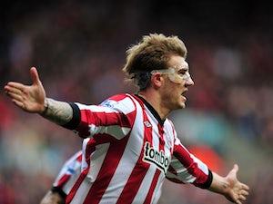 Half-Time Report: Man City 1-2 Sunderland