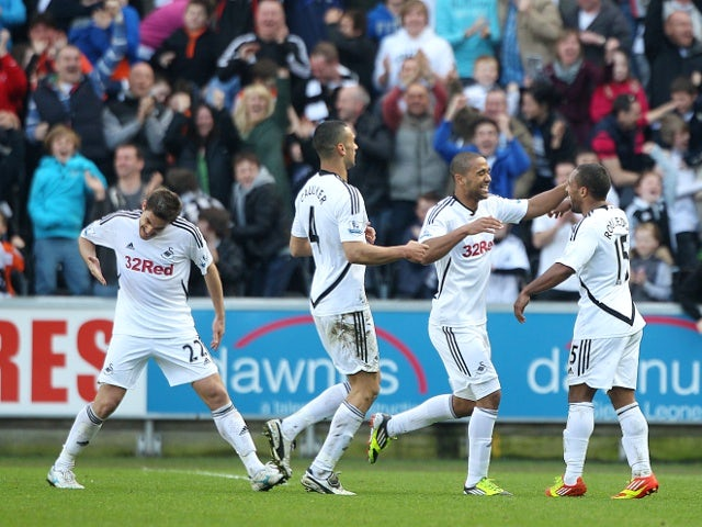 Result: Swansea leave it late at the Liberty
