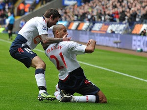 Half-Time Report: Bolton race into three-goal lead