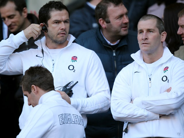 Andy Farrell and Stuart Lancaster