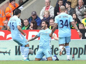 Half-Time Report: Norwich 0-2 Man City