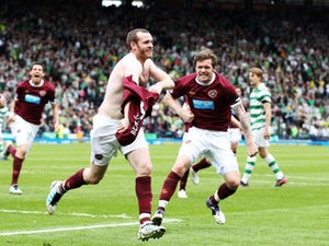 Result: Celtic 1-2 Hearts