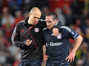 Robben, Ribery in dressing room fight?