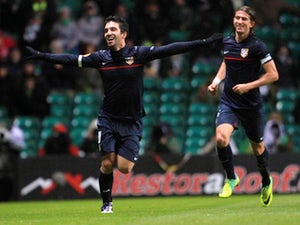 Simeone happy with win
