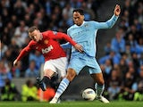 Wayne Rooney and Joleon Lescott