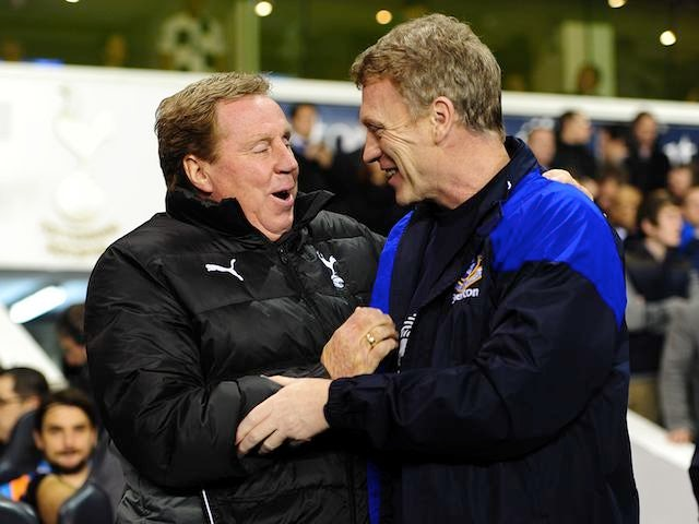 Harry Redknapp and David Moyes