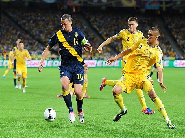Zlatan Ibrahimovic, Yevhen Khacheridi