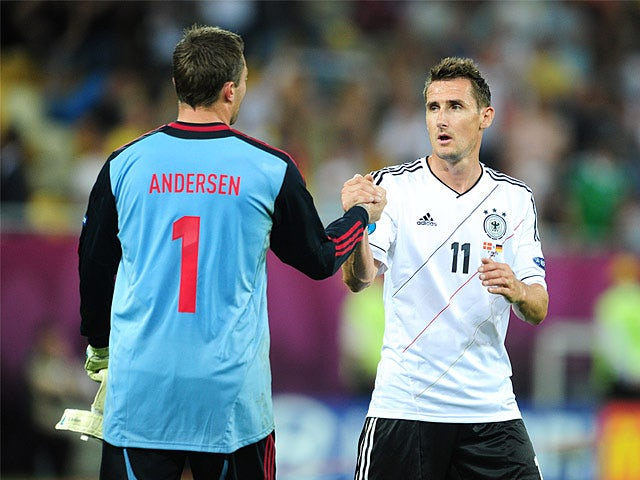 Miroslav Klose, Stephan Andersen