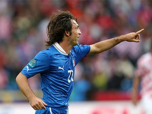 Pirlo ruled out for Italy