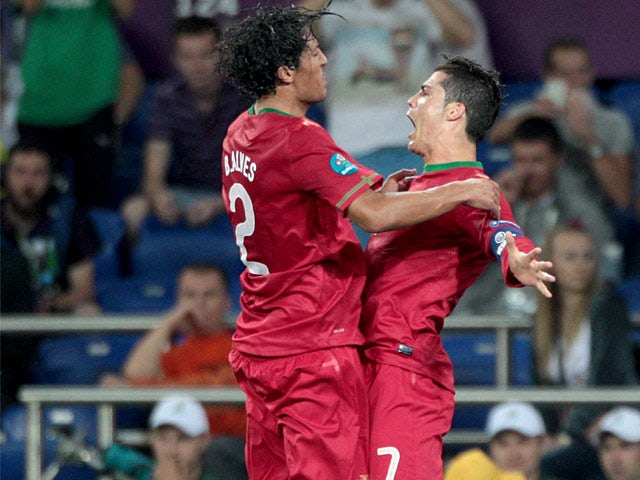 Result: Portugal beat 10-man Azerbaijan