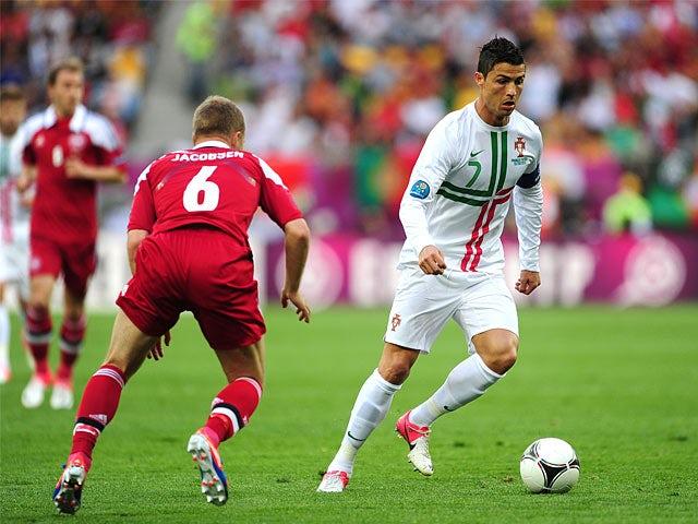 Cristiano Ronaldo, Lars Jacobsen