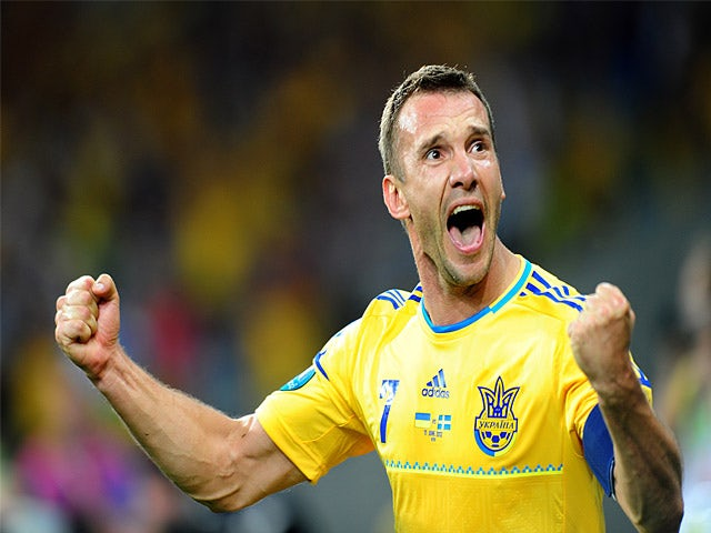 Shevchenko considering golf career