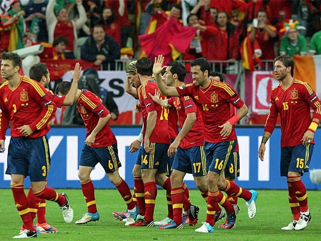 Milla sacked by Spain