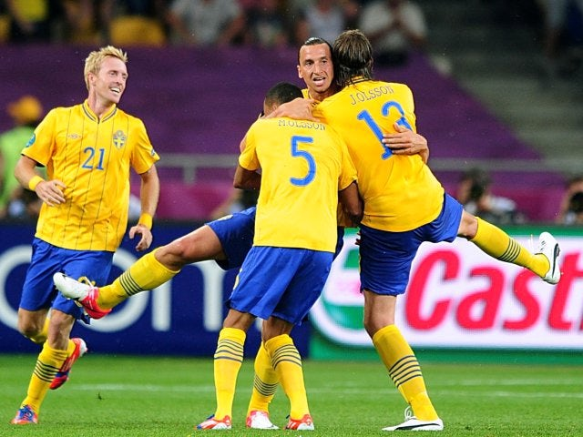 Result: Sweden edge Faroes