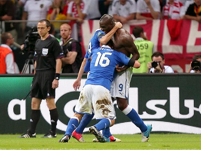 Result: Italy fight back to draw with Brazil