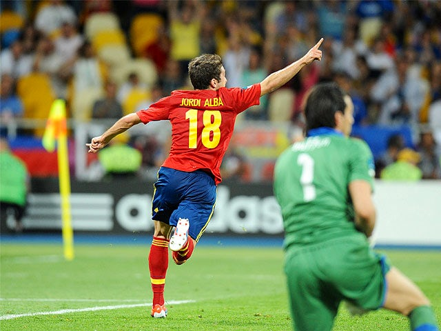 Result: Spain hit Belarus for four