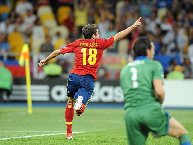 Result: Spain hit Belarus for four