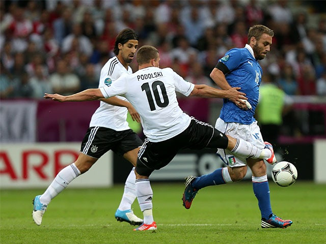 Lukas Podolski, Daniele De Rossi
