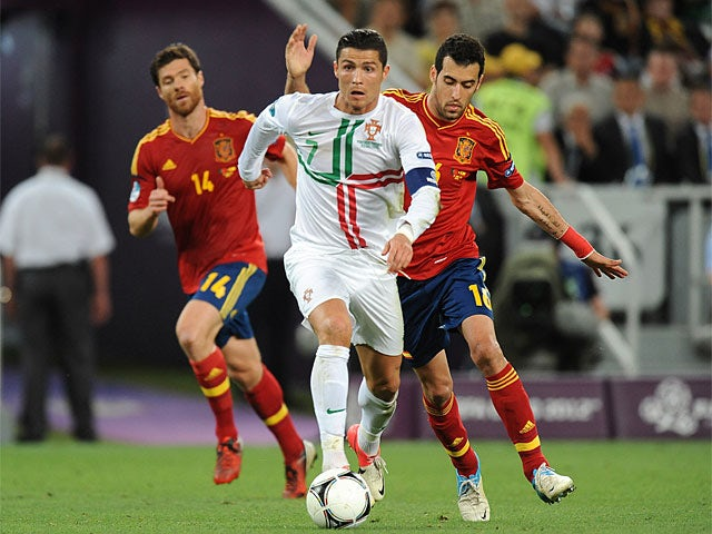 Cristiano Ronaldo, Sergio Busquets