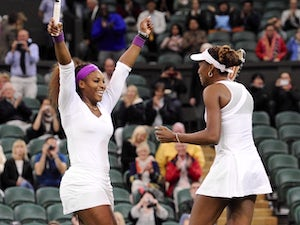 Result: Williams sisters claim third doubles gold