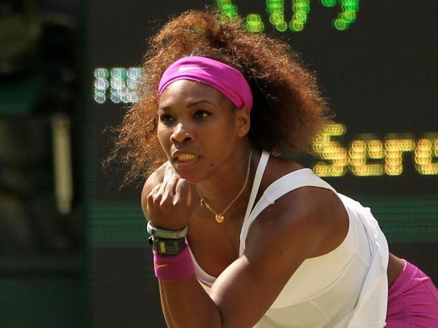 Result: Serena blasts her way to round two