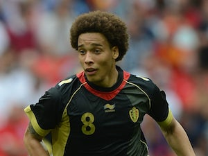 Team News: Axel Witsel starts for Zenit