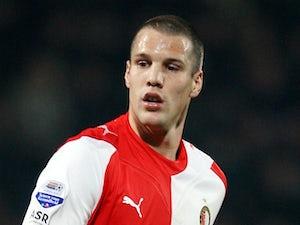 Vlaar admits relief after win