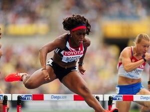 Result: Porter fourth in second 100m hurdles semi