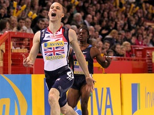 Talbot offers support to fellow sprinters