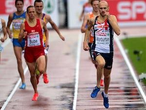 Result: Warburton out of men's 800m