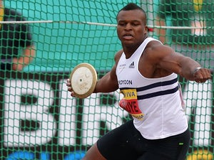 Result: Okoye eliminated from discus final