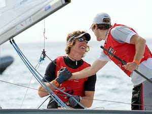 Result: GB pair win silver in 470