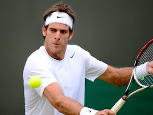Result: Del Potro marches on in Paris