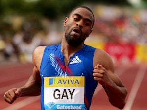 Gay disappointed with 4th place in 100m final
