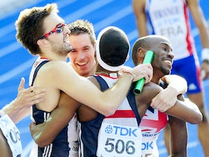 GB quartet named for 4x400m